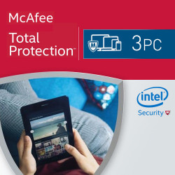 McAfee Total Protection 2018 KEY 3 PC