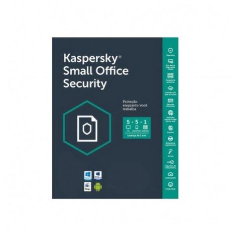 Kaspersky Small Office Security 20 PC/Mac, 20 Smartphones 1 Server 1 Jahr