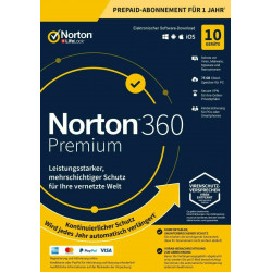 NORTON 360 STANDARD 10 PC 1 ROK
