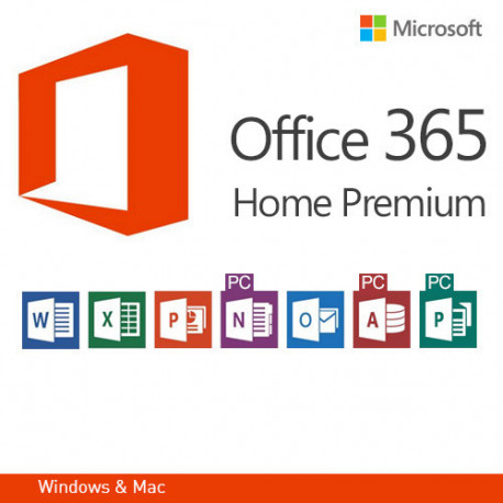 Microsoft Office 365 Home Premium De Version 32 I 64 Bit Mlk