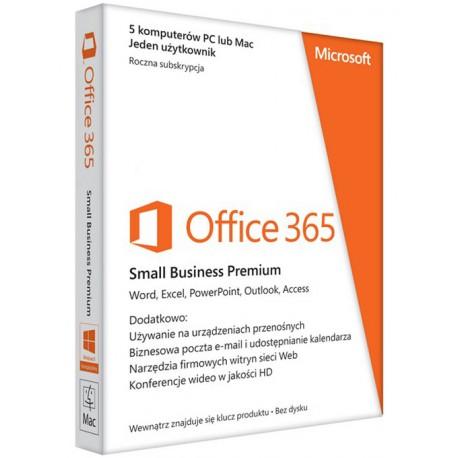 Office 365 Small Business Premium (6SR-00122)